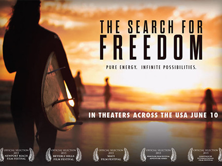 The Search For Freedom postcard